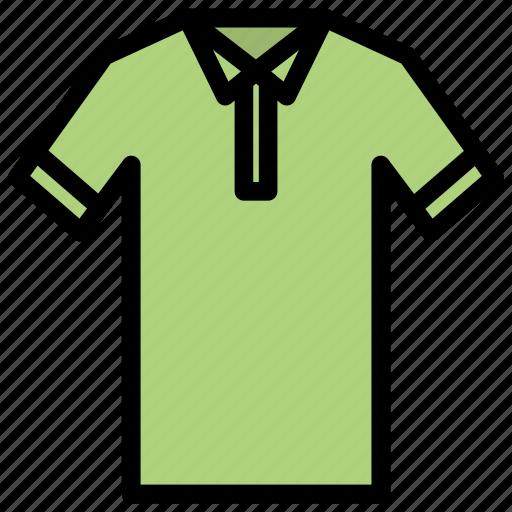 fashion, golf shirt, poloshirt, shirt, tshirt, wear icon