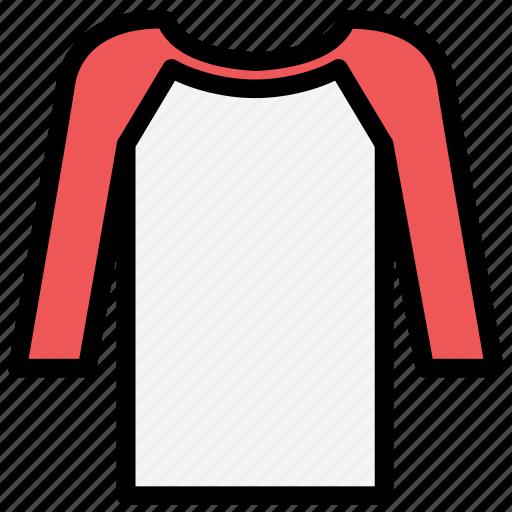 clothes, fashion, raglan, sleeve, tshirt, wear icon