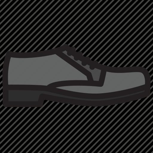 fashion, footgear, footwear, men, shoe icon