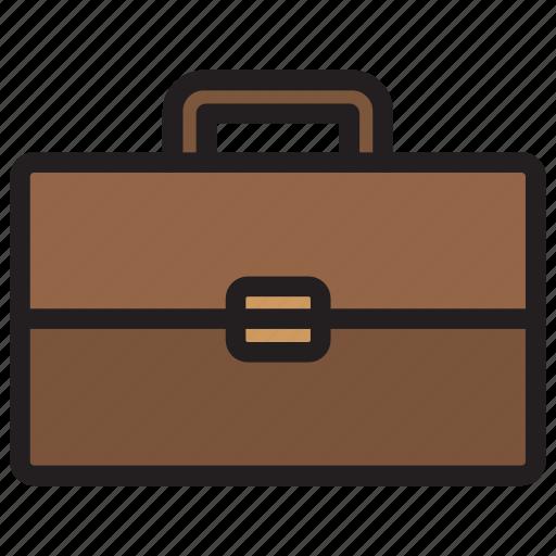 bag, briefcase, portfolio, transport, travel icon