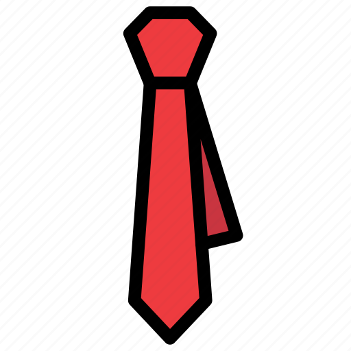 business, fashion, formal, office, tie, work icon