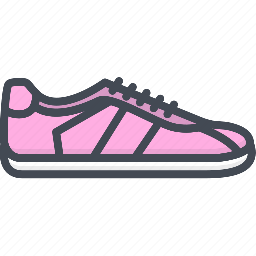 Clothes, filled, outline, shoes, sneakers, women icon - Download on Iconfinder