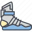 basketball, clothes, filled, footwear, high, men, outline, shoes, sneakers