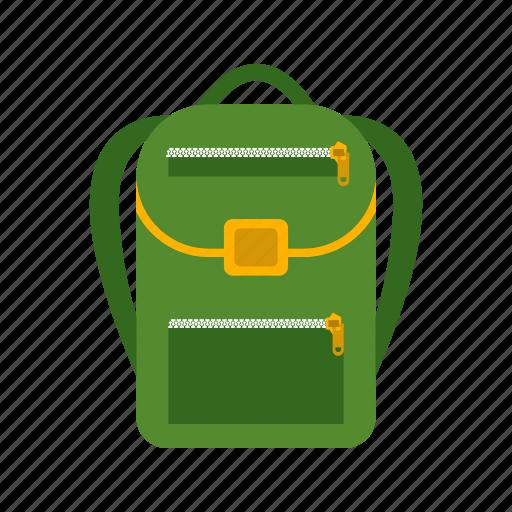 backpack, bag, journey, luggage, object, travel icon