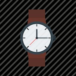 casual, hand, men, time, watch, wrist, wristwatch icon