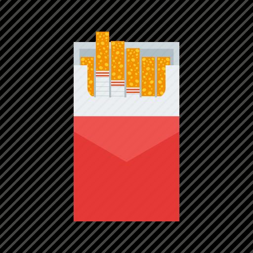 burn, cigarettes, danger, health, nicotine, pack, tobacco icon