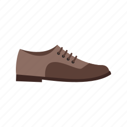 brown, fashion, footwear, formal, leather, men, shoes icon