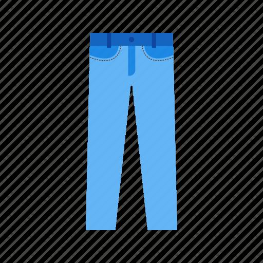 casual, clothes, fashion, jeans, men, pants, trouser icon