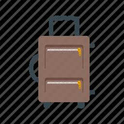 airport, baggage, handbag, suit case, travel, trip, vacation icon