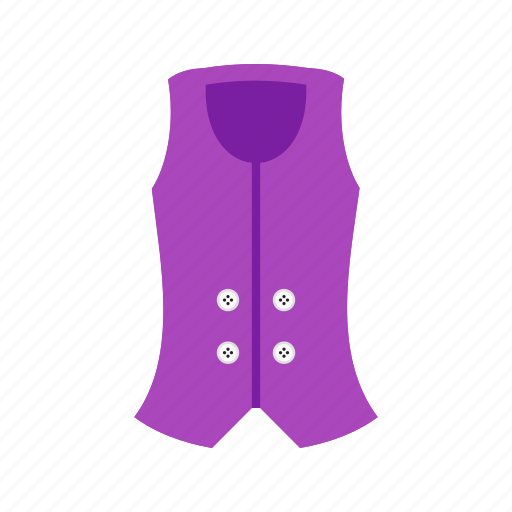 casual, clothes, clothing, fashion, summer, vest icon
