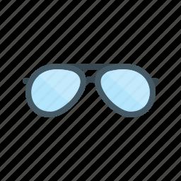 design, eyeglasses, glasses, old, round, spectacles, vintage icon