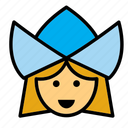 avatar, face, girl, people, person, user, woman icon