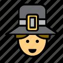avatar, face, man, people, person, pilgrim, user