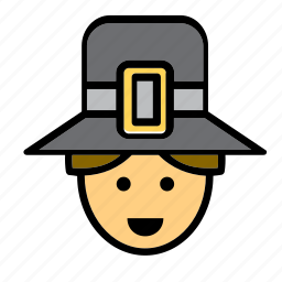 avatar, face, man, people, person, pilgrim, user icon