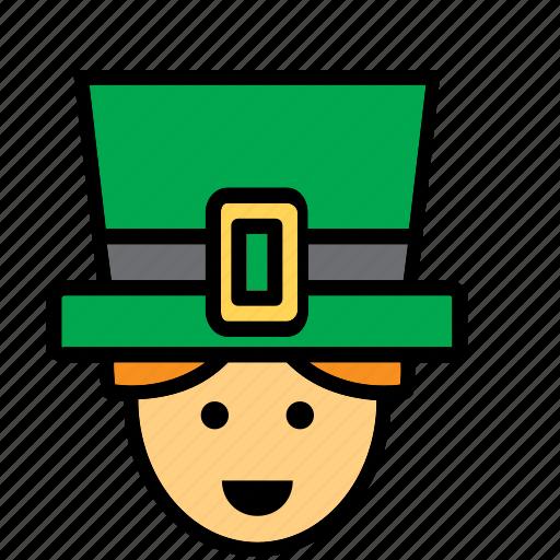 avatar, ireland, irish, man, people, person icon
