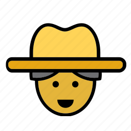 avatar, cuba, cuban, face, man, people, person icon