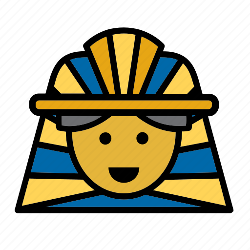 avatar, egypt, egyptian, face, people, person, pharaoh icon