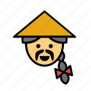 asian, avatar, china, chinese, man, people, person icon