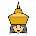 avatar, people, person, thai, thailand, user, woman icon
