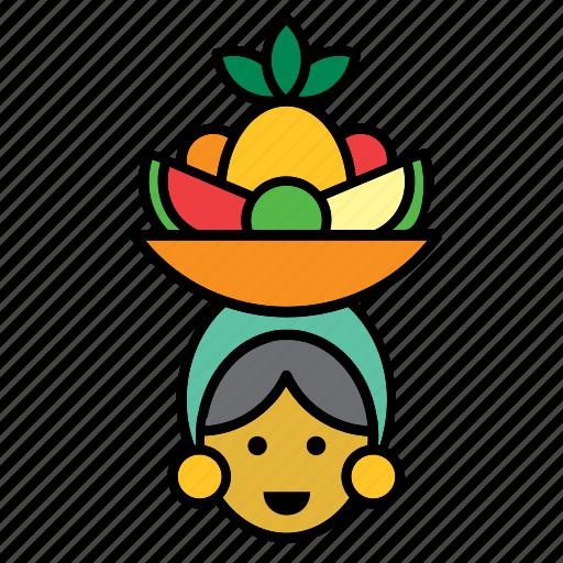 avatar, carmen miranda, cuba, cuban, man, people, person icon