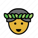 avatar, hawaii, hawaiian, man, people, person icon
