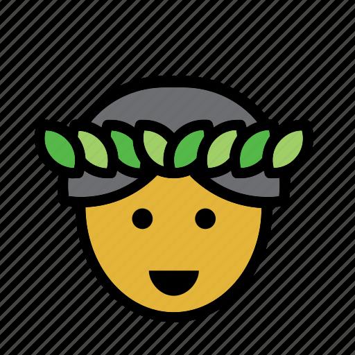 avatar, hawaii, hawaiian, man, people, person icon