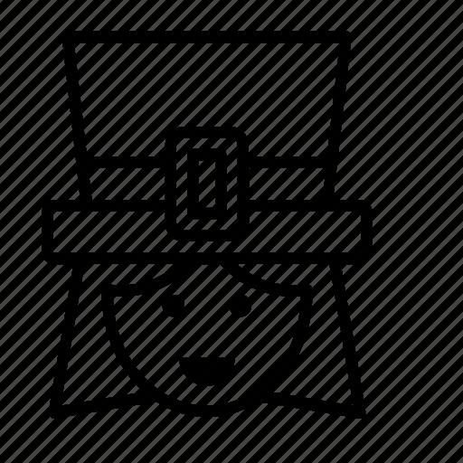 avatar, ireland, irish, people, person, user, woman icon