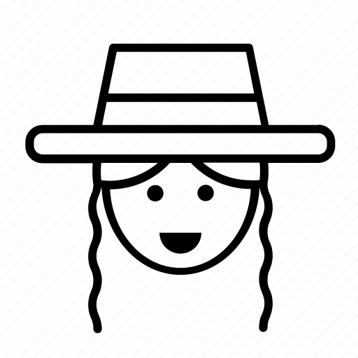 amish, avatar, jew, jewish, man, people, person icon