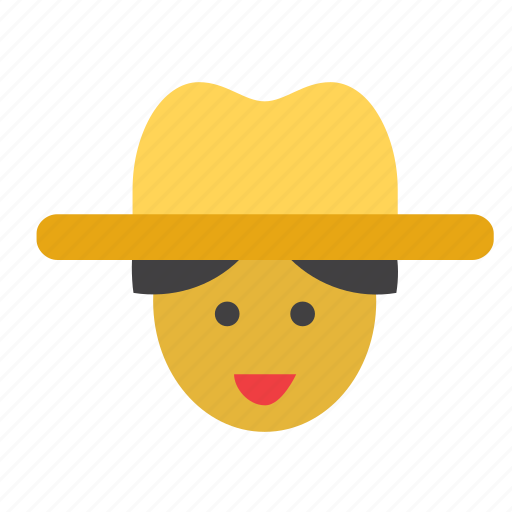 cuba, cuban, face, hat, man, people, person icon