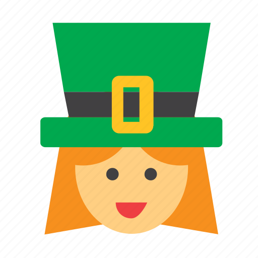 face, ireland, irish, people, person, user, woman icon