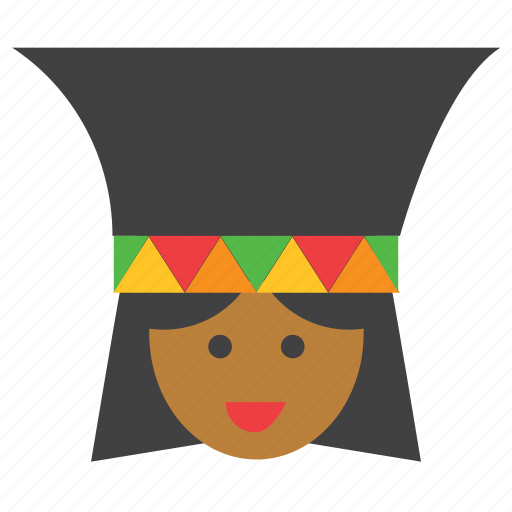 africa, african, avatar, face, people, person, woman icon