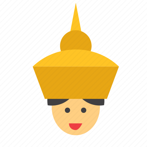 avatar, face, man, people, person, thai, thailand icon