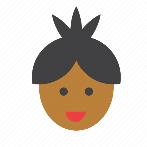 africa, african, avatar, face, people, person, user icon