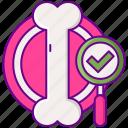 bone, density, testing icon