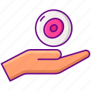 donation, donor, egg icon