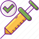 injection, syringe, vaccination, vaccine icon