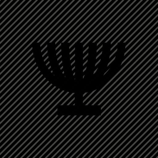candelabrum, israel, judaica, light, menora, menorah, tradition icon