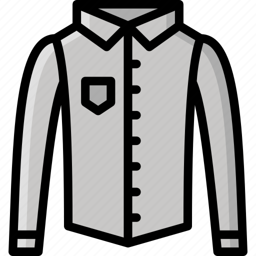 Clothing, colour, mens, shirt, smart icon - Download on Iconfinder