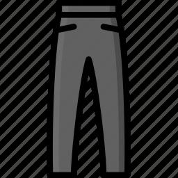 clothing, colour, jogging, mens, pants icon