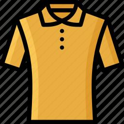 clothing, collared, colour, mens, shirt, tshirt icon