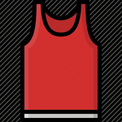 clothing, colour, mens, vest icon
