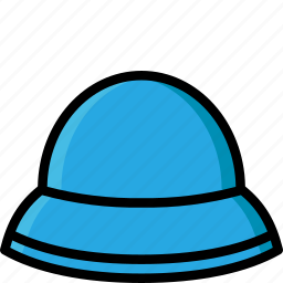 clothing, colour, hat, mens, sun icon
