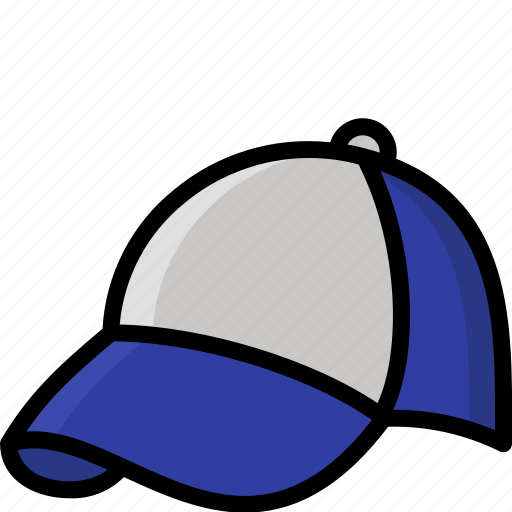 Baseball, cap, clothing, colour, mens icon - Download on Iconfinder