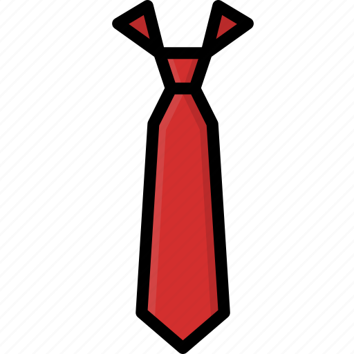 clothing, colour, mens, tie icon