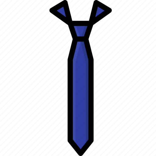 Clothing, colour, mens, skinny, tie icon - Download on Iconfinder