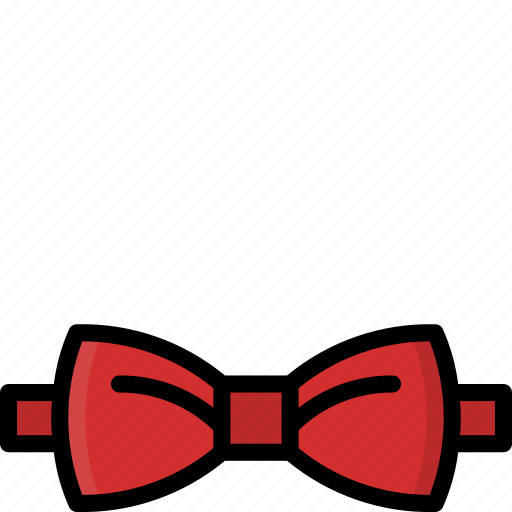 Bow, clothing, colour, mens, tie icon - Download on Iconfinder