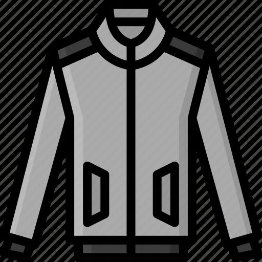 bomber, clothing, coat, colour, jacket, mens icon