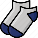 ankle, clothing, colour, mens, socks, underwear icon