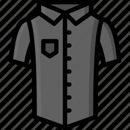 clothing, colour, mens, shirt, short, sleeved icon