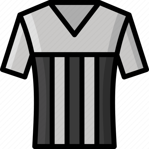 clothing, colour, football, mens, shirt icon